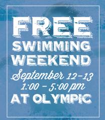 Free Swimming Weekend