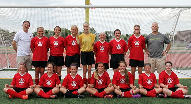 Girls Spring 2014 Tournament Champions