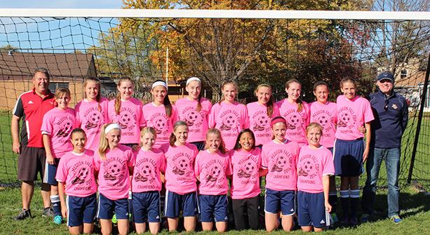 Girls U14 - Mequon Cup Fall 2014 Champions