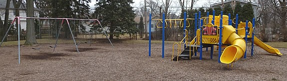 Virginia Terrace Playground - Before