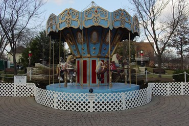 Carousel during the day