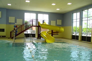 Olympic's Activity Pool Slide