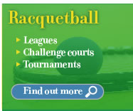 Racquetball at Forest View Racquet & Fitness Center