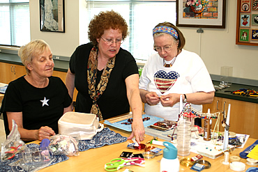 Senior Center Arts and Crafts