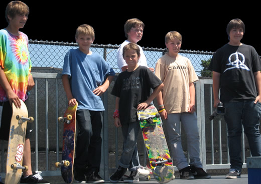 Photo of Teens at the Skate Park