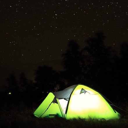 Camping Under the Stars at the Musuem