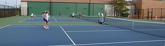 Forest View Outdoor Tennis Courts
