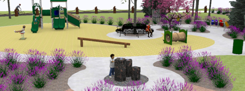 Sensory Garden and Native Plantings