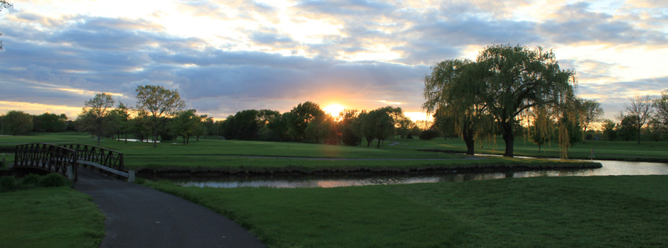 Sunset at ALGC